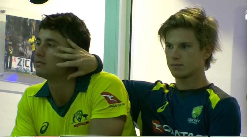 Adam Zampa and Marcus Stoinis left Justin Langer no choice