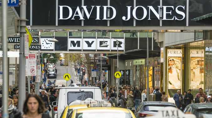 Myer and David Jones are struggling to attract customers back into their stores and online.