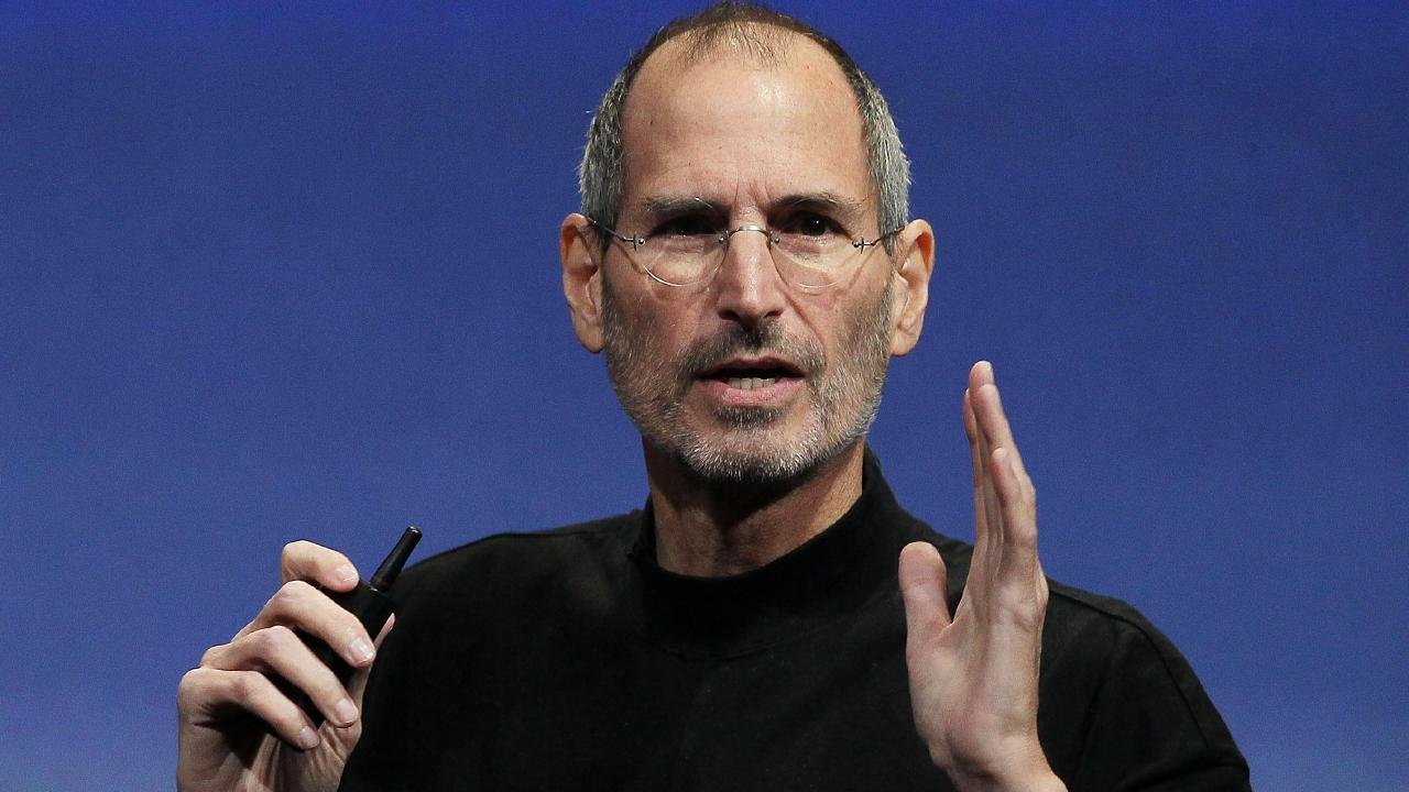 Apple founder Steve Jobs always wanted to crack the television market. Picture: Justin Sullivan/Getty