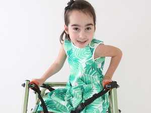 Little girl's brave fight captured on film