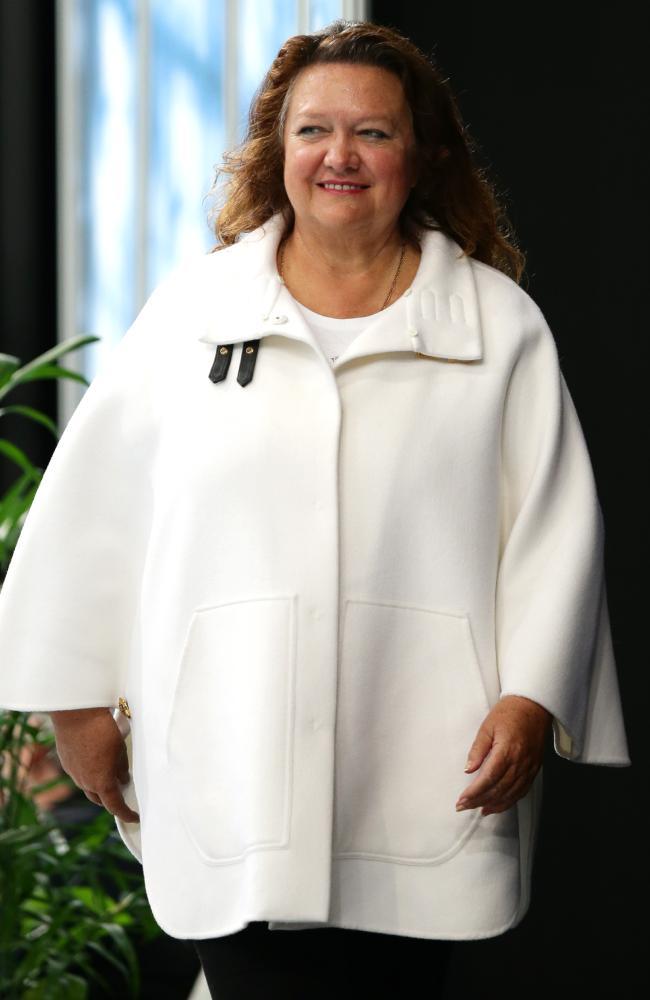 Australia's richest person Gina Rinehart. Picture Gregg Porteous