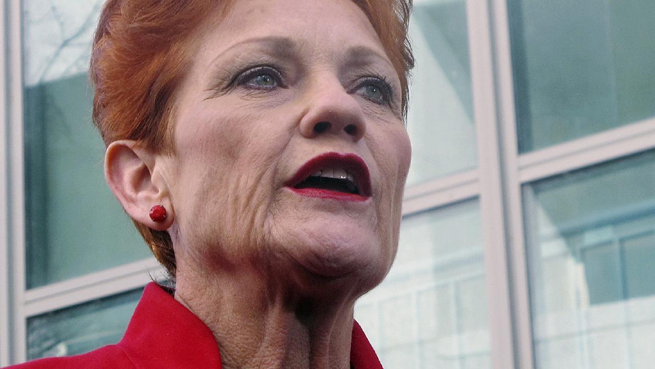 Pauline Hanson. Picture: AP