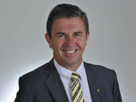 Mr Gillespie is the federal member for Lyne.