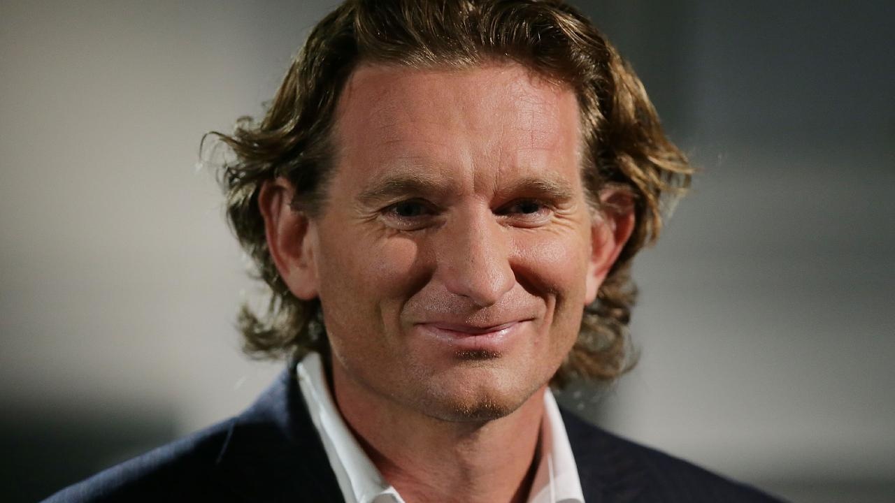Former Essendon coach James Hird is back. (Photo by Mark Metcalfe/Getty Images)