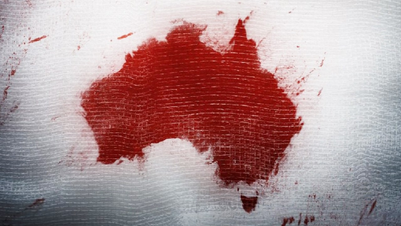 A provocative images used by the US' National Rifler Association on an article that rubbishes Australia's gun laws