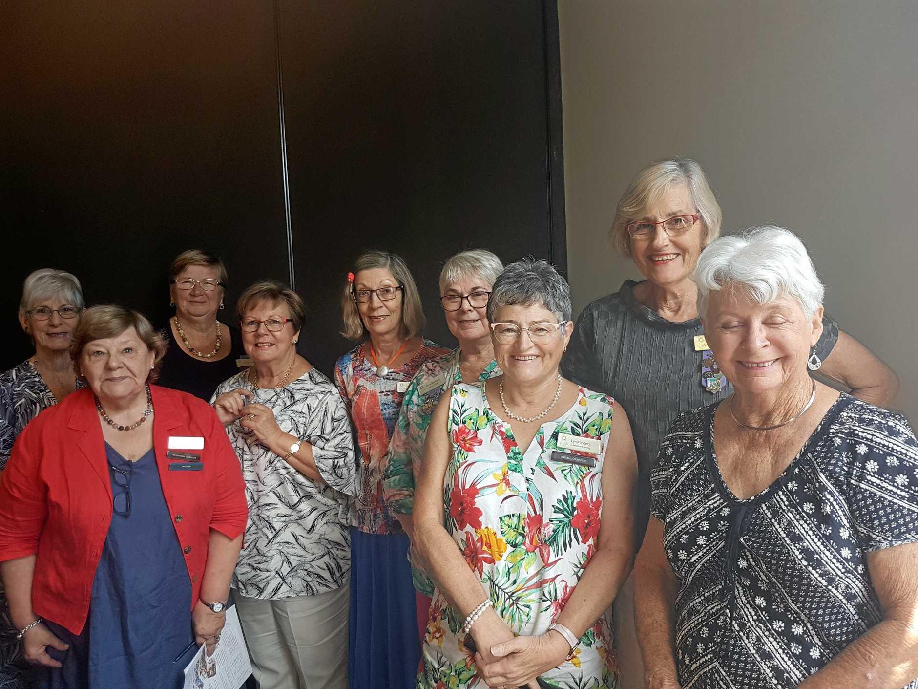 Kenmore VIEW Club 2019 Committee members.