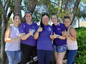 Our parkrun goes purple