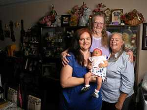 Super-Nan welcomes 50th great grandchild with a snip