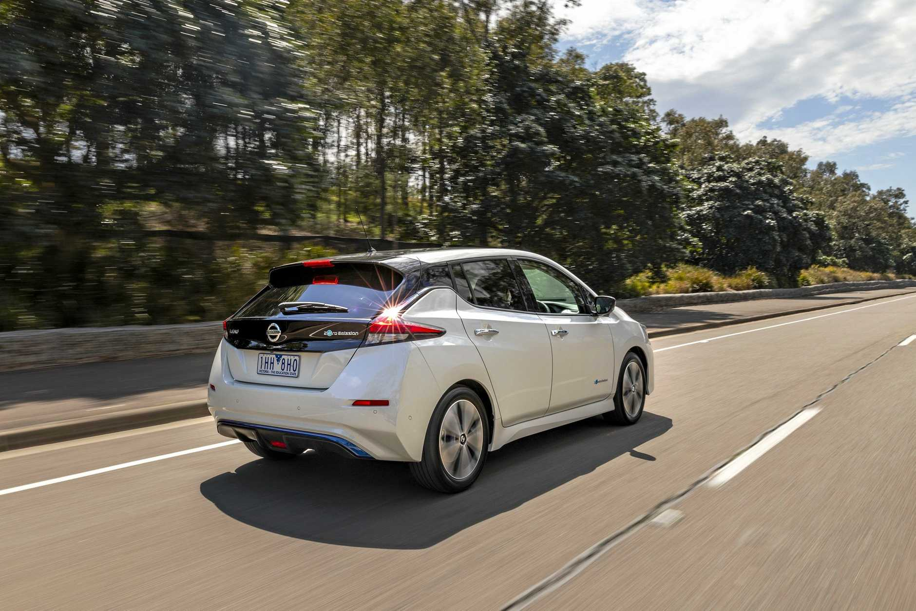 A REAL BUZZ: Residents will see more Nissan Leaf electric cars driving around Warwick soon.