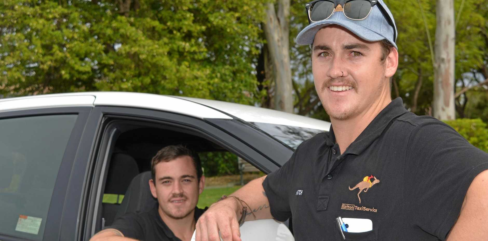 ROAD TO CHANGE: Gatton Taxi Service owners Thomas and Mitch Small are eager to drive change in the community.