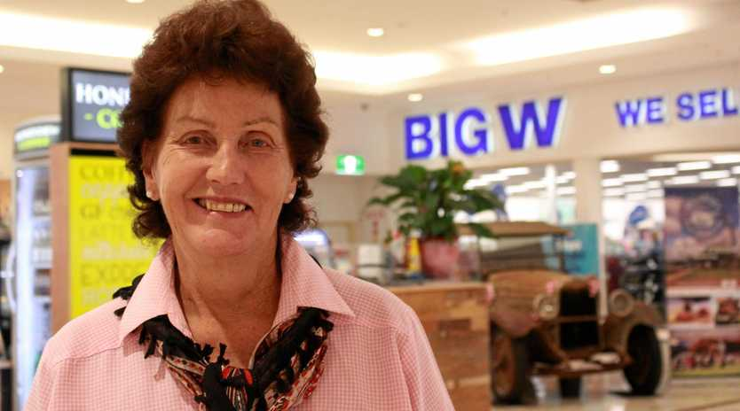 Clifton resident Annett Larkin regularly comes into Warwick to shop at Big W.
