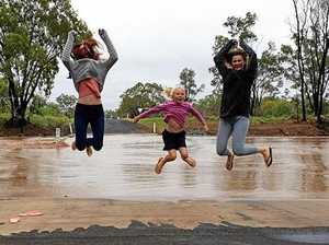 Swollen dams and full hearts as rain hits Central Queensland
