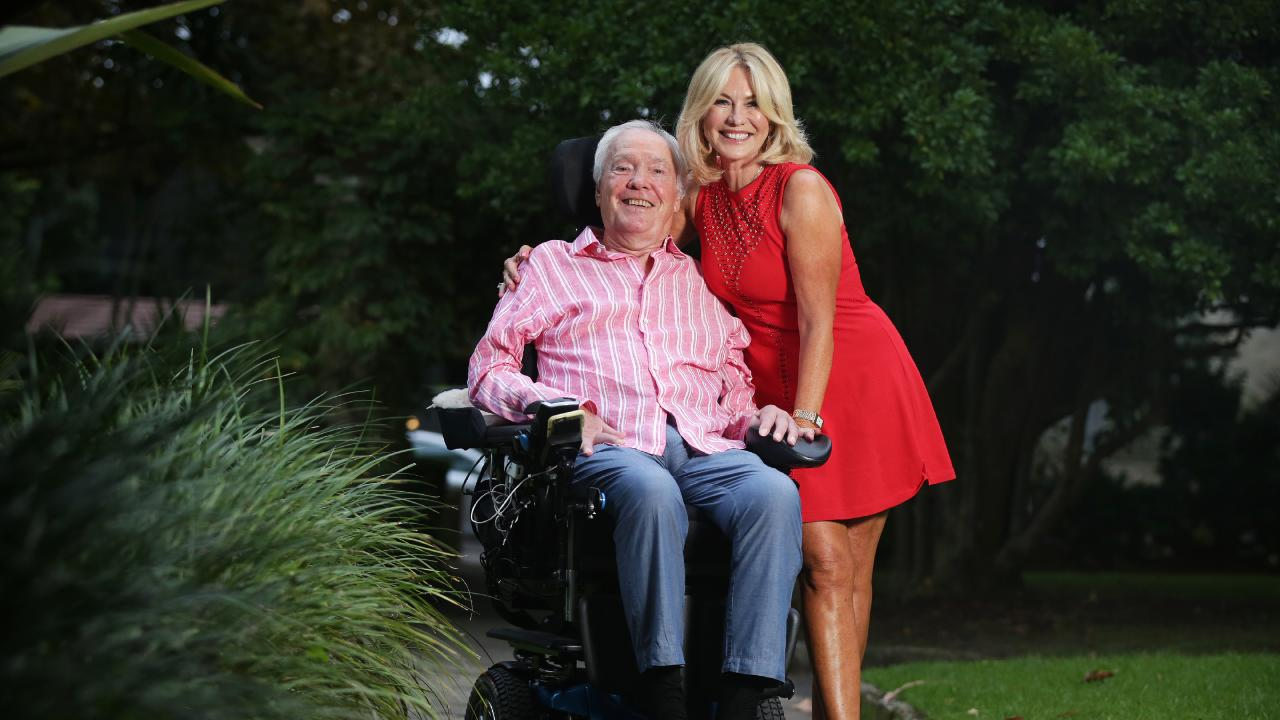 TV Legend Kerri-Anne Kennerley and husband John.