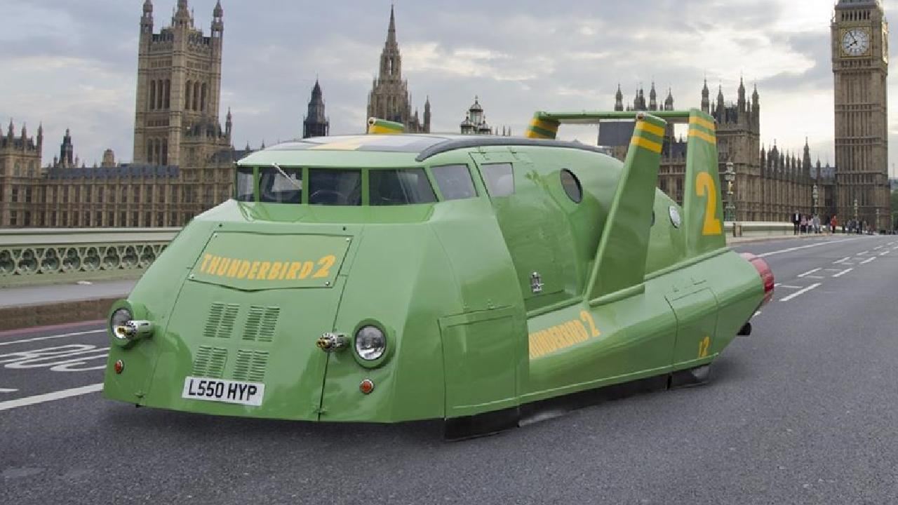 Thunderbird 2 replica.