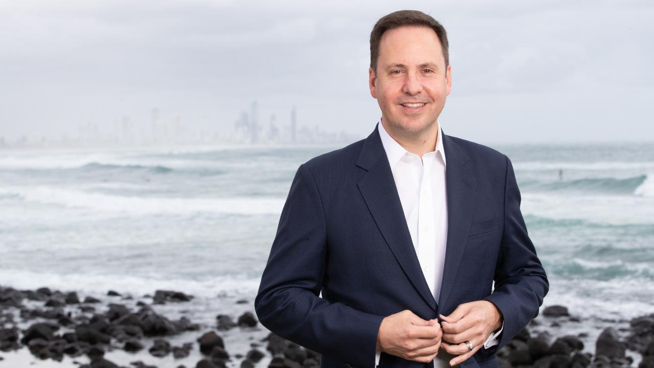 Steven Ciobo is retiring at the election. Picture by Luke Marsden.