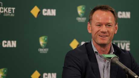CFormer Cricket Australia team performance general manager Pat Howard