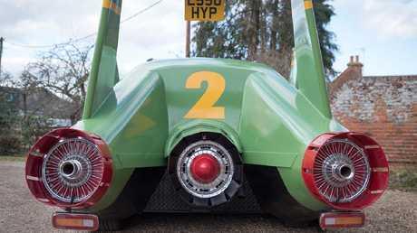 Thunderbird 2 won't go anywhere near Mach 8.