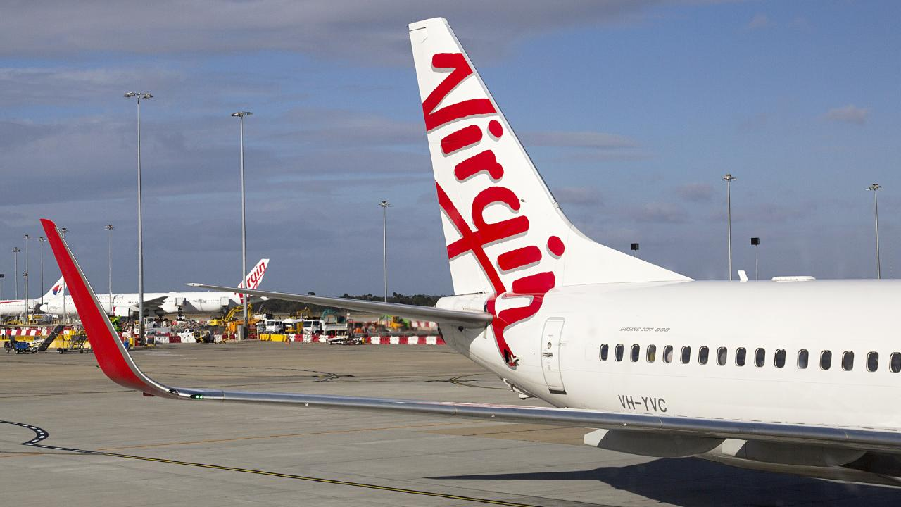 After a layover in Melbourne, the person then flew on a Virgin flight to Christchurch.