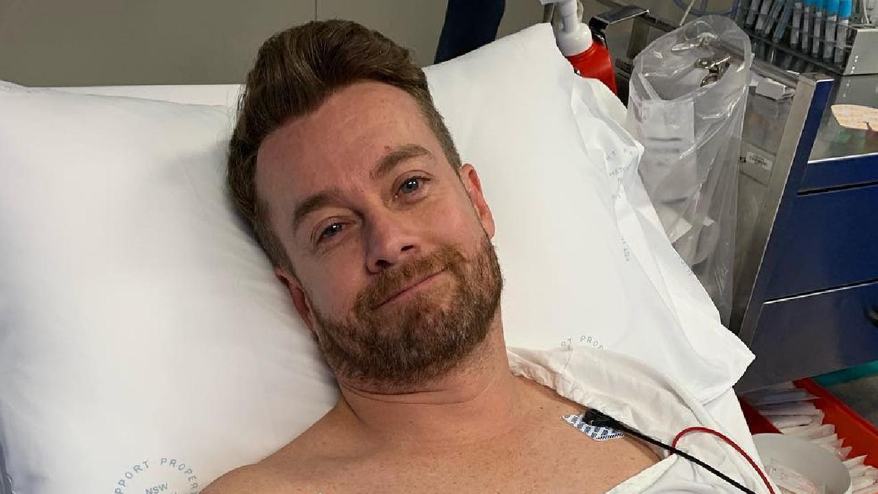 "Chezzi shared a photo of a sore-looking Denyer on her Instagram, saying his injury was ""not real fair, but then that is life"""
