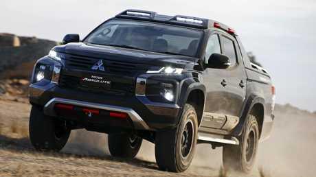 Mitsubishi Triton Absolute concept has a more aggressive look.