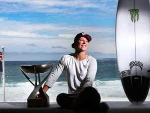 'Brain fog' forces world surf champ off tour