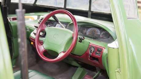 The replica Thunderbird 2 uses a Toyota Tarago as a base.