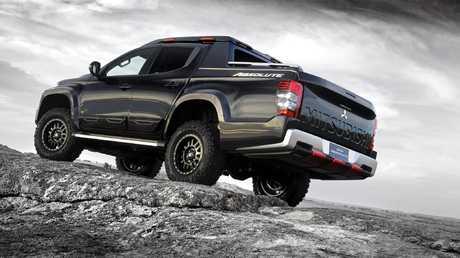 Mitsubishi Triton Absolute concept builds on the ute's off-road prowess.