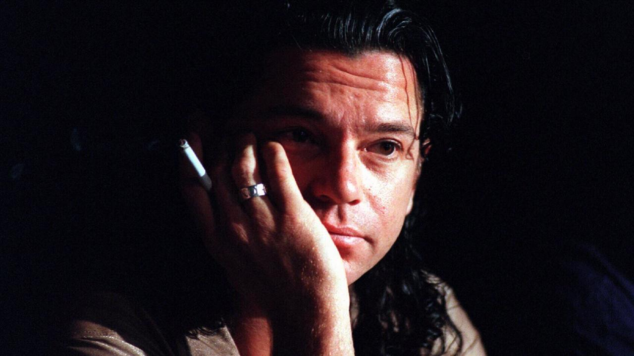 Michael Hutchence died alone in a Sydney hotel room in 1997.