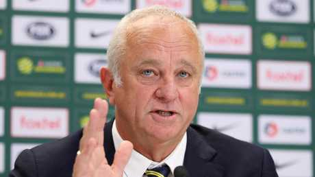 Graham Arnold is delighted with the opportunity. Picture: Getty Images