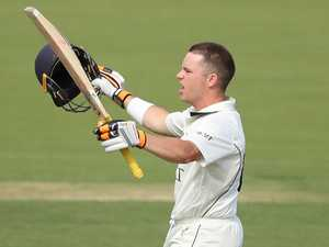 Harris tons up for Vics in Shield final