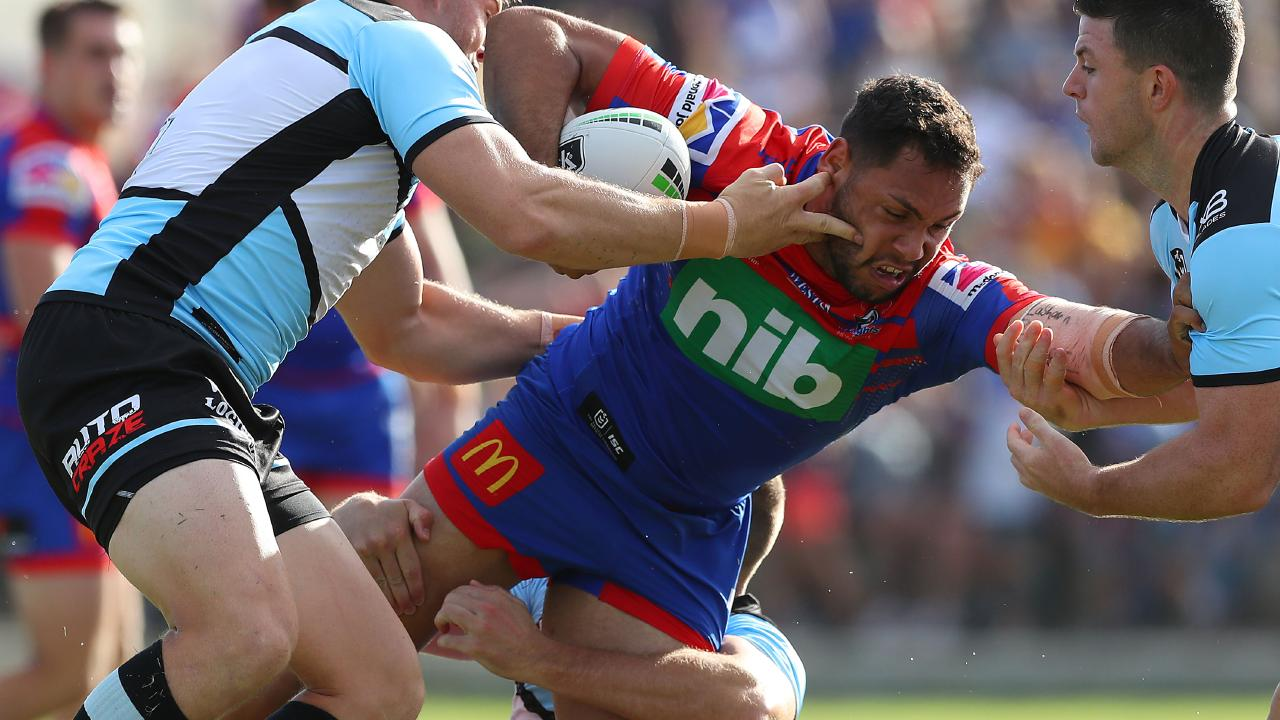 Ramien has struggled to get the ball where he needs it. Image: Tony Feder/Getty Images