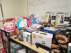 Cops discover $20,000 of stolen items in raid