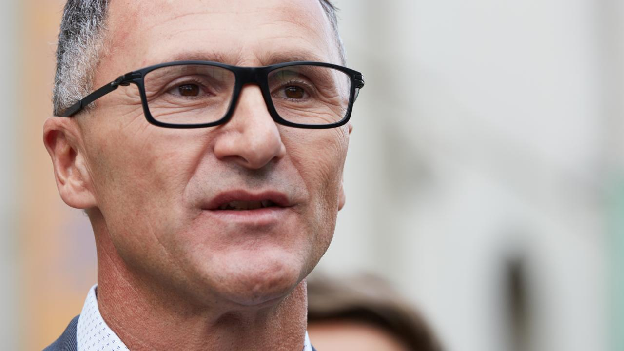 Greens leader Richard Di Natale. Picture: AAP