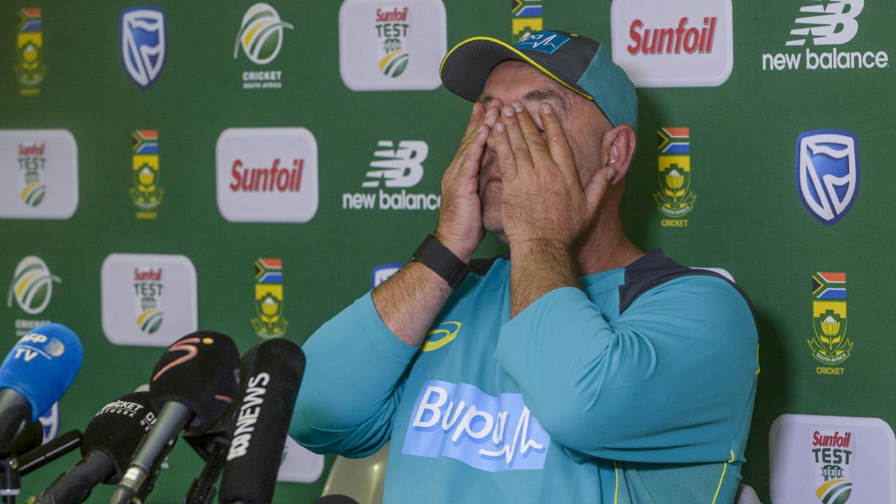 Coach Darren Lehmann of Australia resigns as Australia's national cricket team