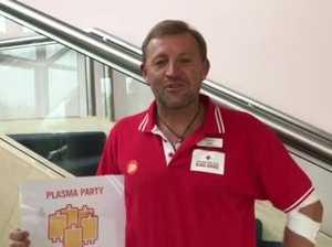 Plasma Party at Lismore Blood Service