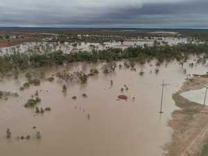 An inland island: vision of Quilpie in Flood