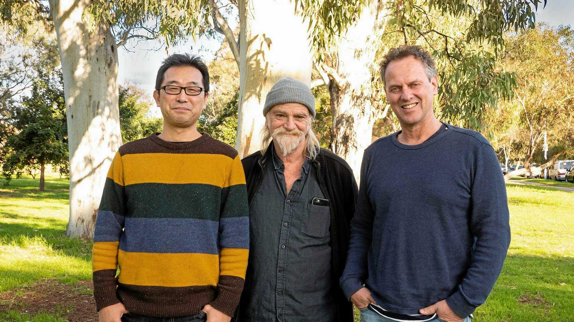 JC Shin, Adrian Adams and Neil Mackenzie
