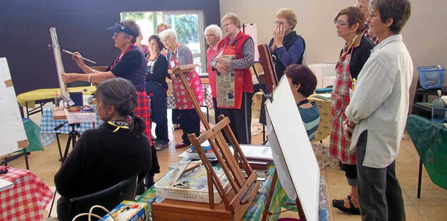 MASTERING ART: Penelope Gilbert Ng returns this winter for a one-day Pastel workshop at the Buderim Craft Cottage.