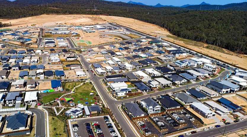 PROGRESS: Spring Mountain is Ipswich's fastest-growing suburb. In 2018, 1977 residents moved into the area.