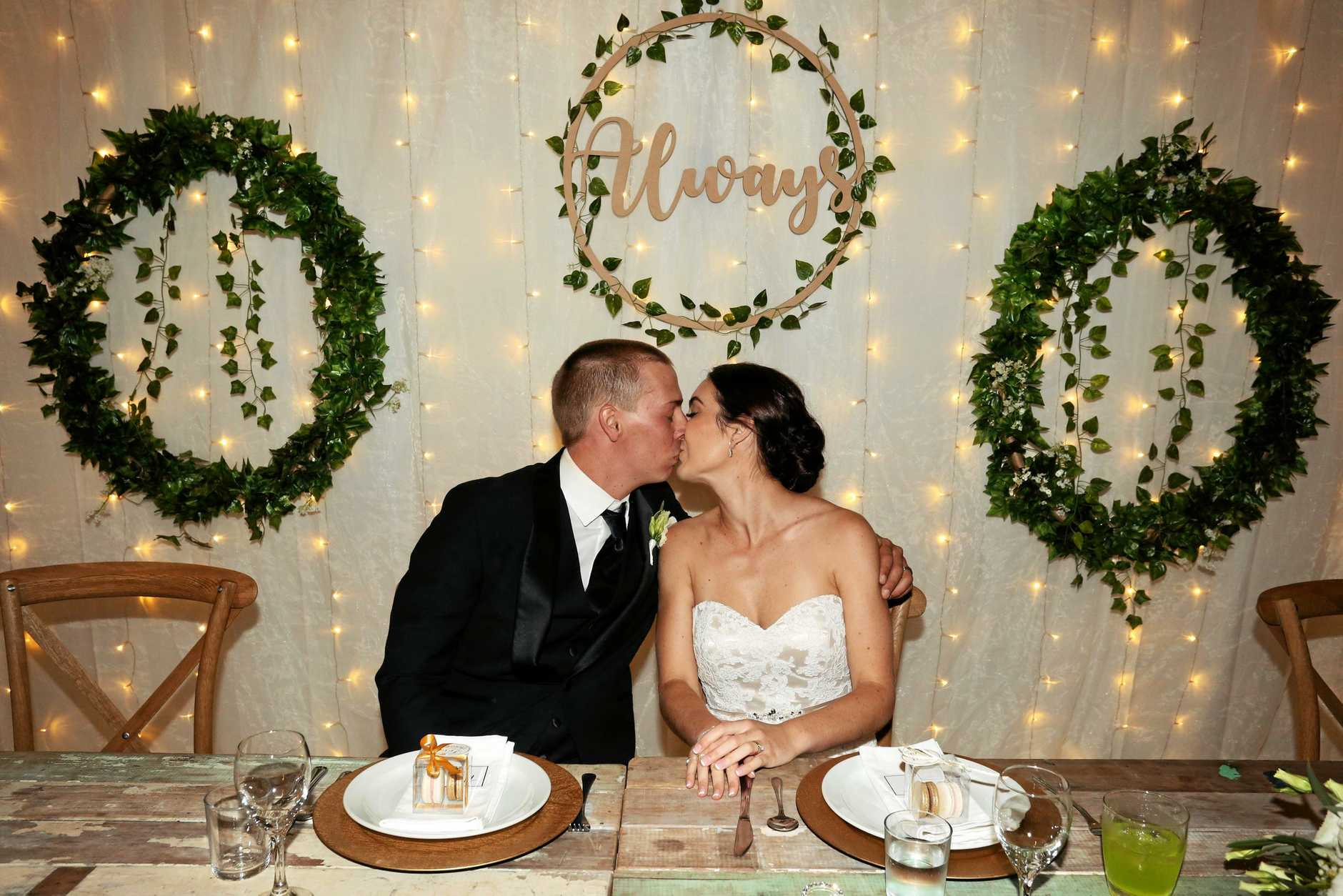 Toni Ledger has tied the knot with Tylar Crack.