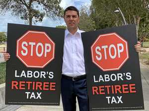 Fraser back on attack over Labor's retiree tax