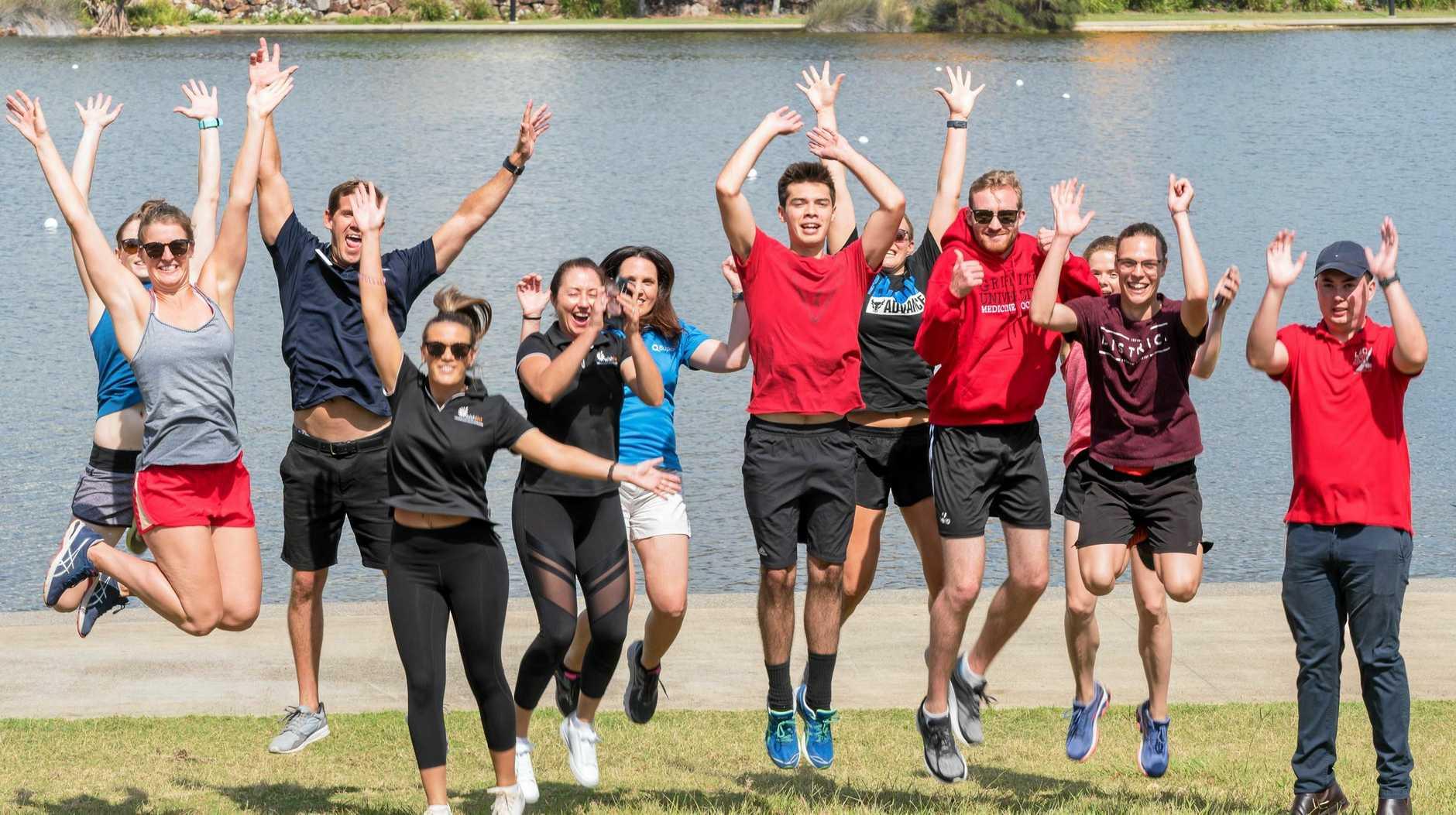 THE JOY OF RUNNING: Wishlist Fun Run will take place this Sunday, March 31, at Lake Kawana.