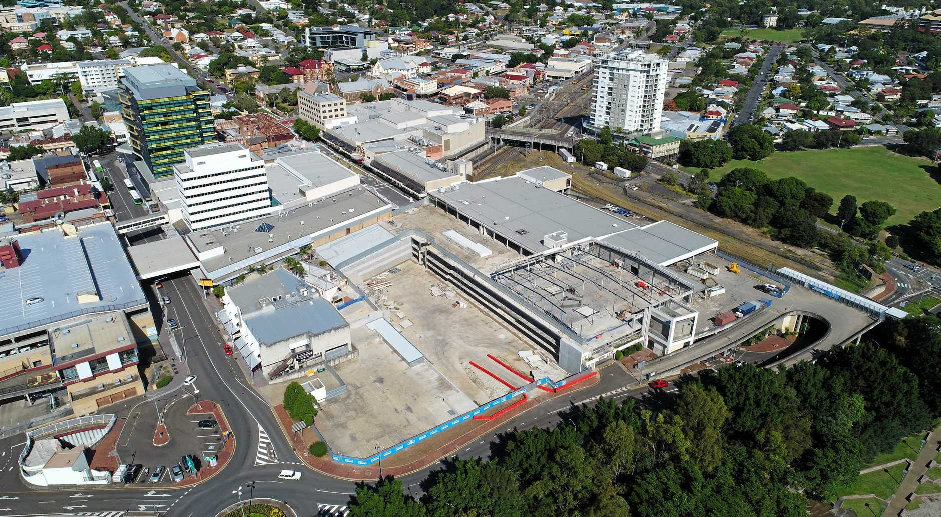 Ipswich CBD development