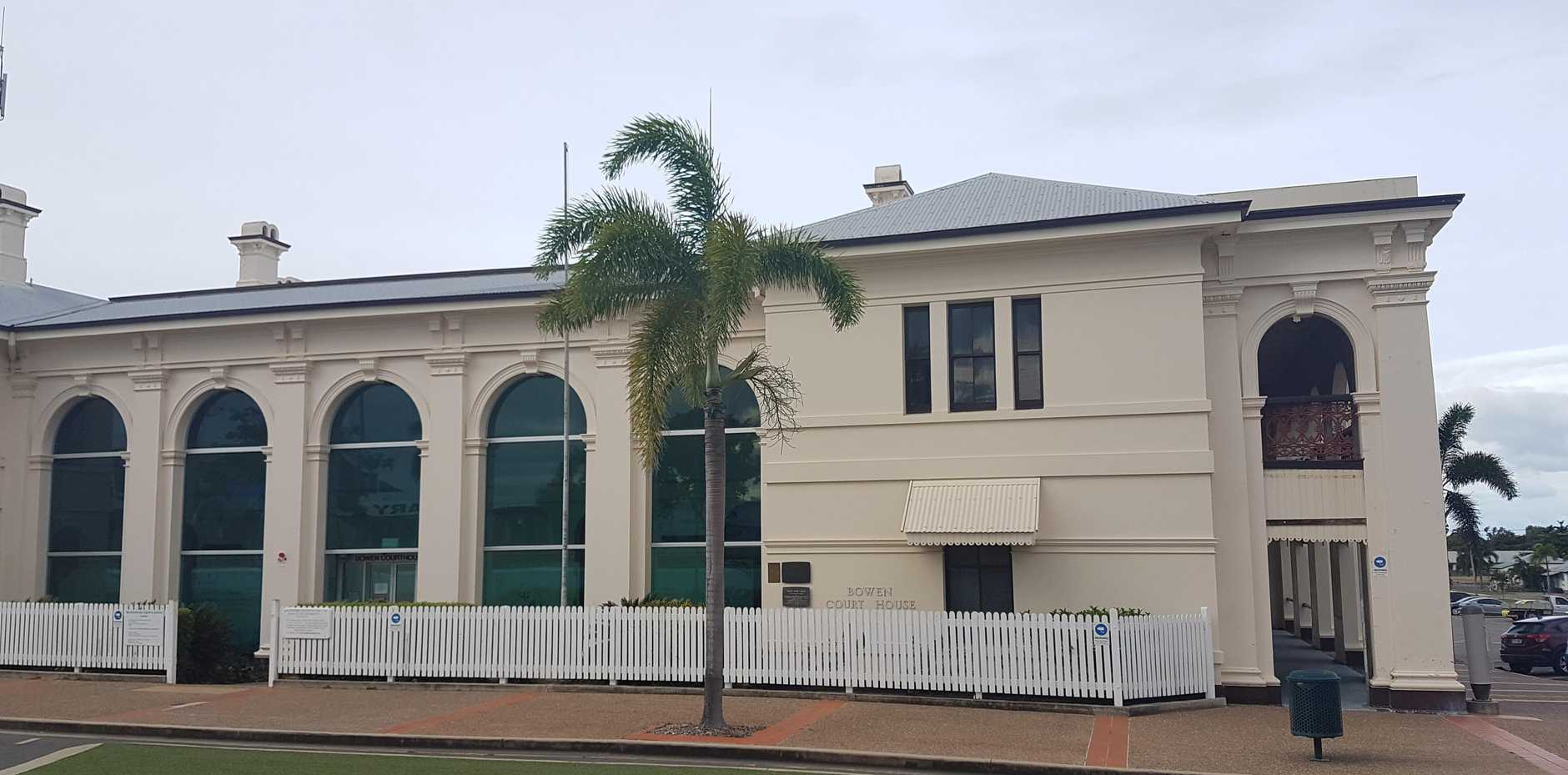Norman Henaway faced Bowen Magistrates Court on drug and knife possession charges.
