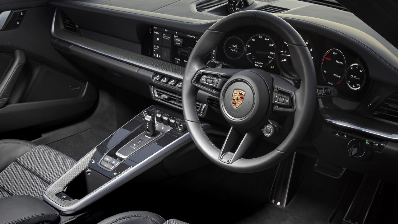 PPorsche has lifted its game with the 911's new interior.