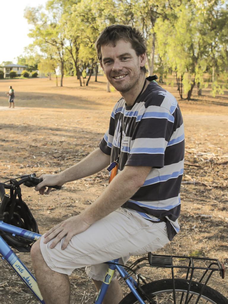 Greg Conway, 40, Biloela.