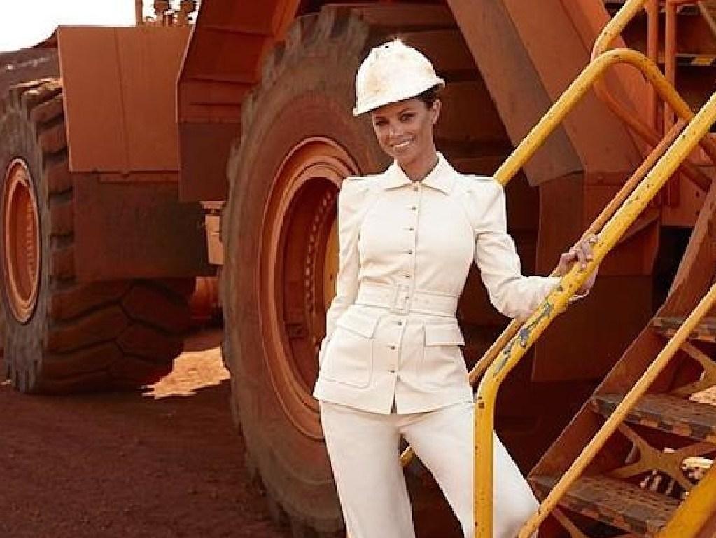 Bianca Rinehart in the Pilbara
