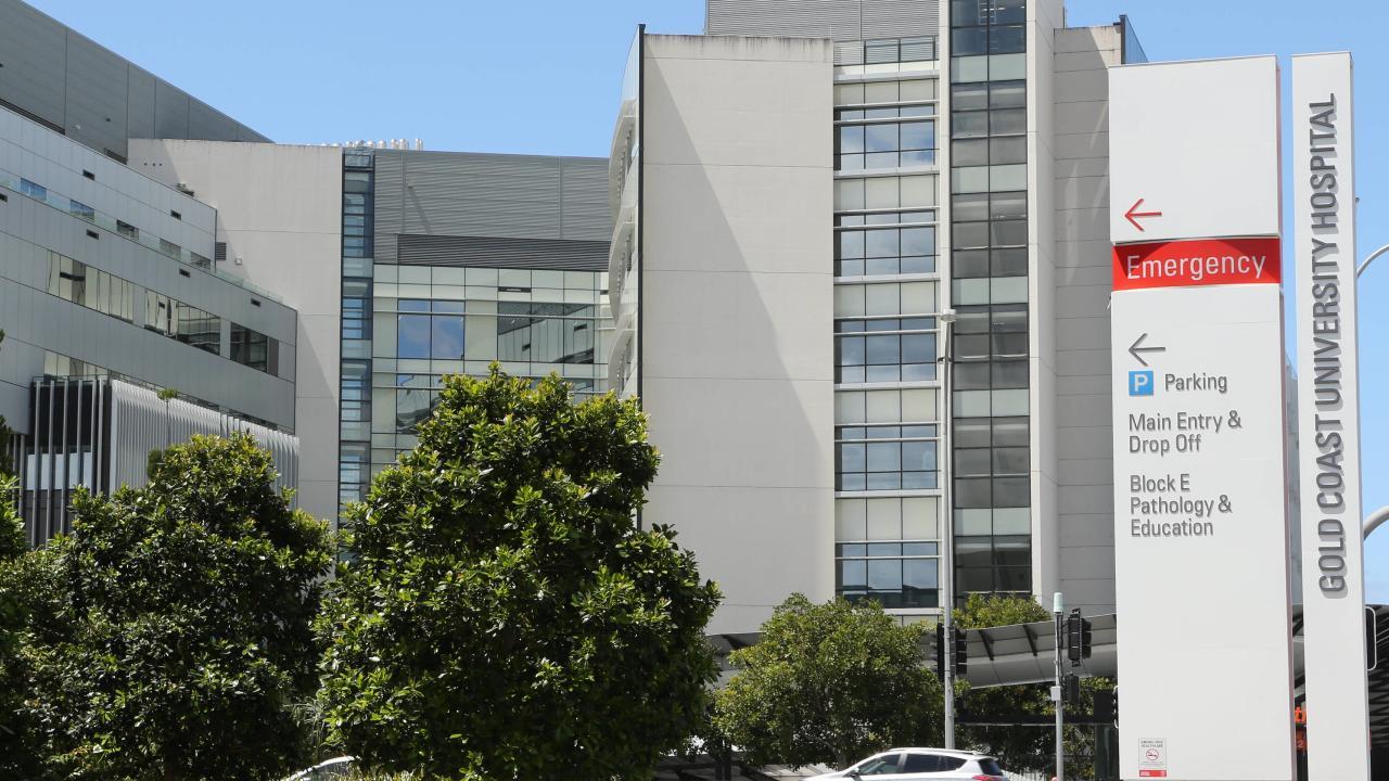 Gold Coast University Hospital . Picture Glenn Hampson