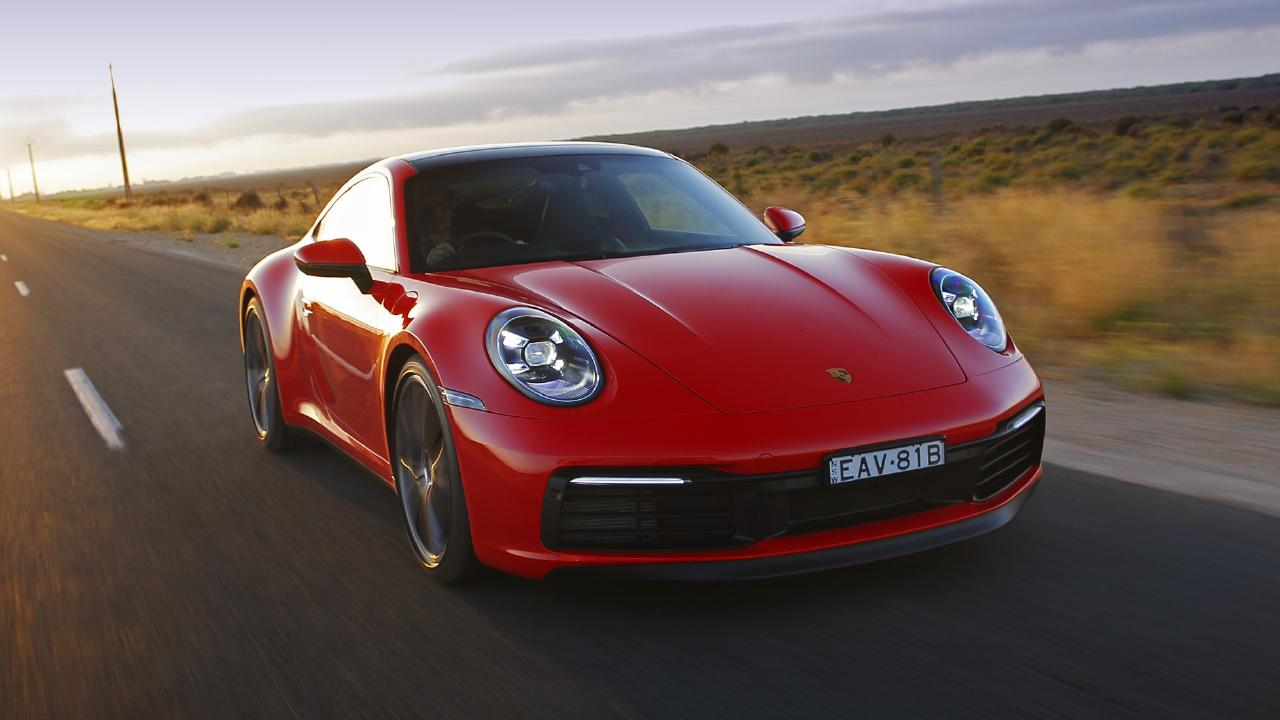 The Porsche doesn't come cheap with the Carrera S starting at $265,000.
