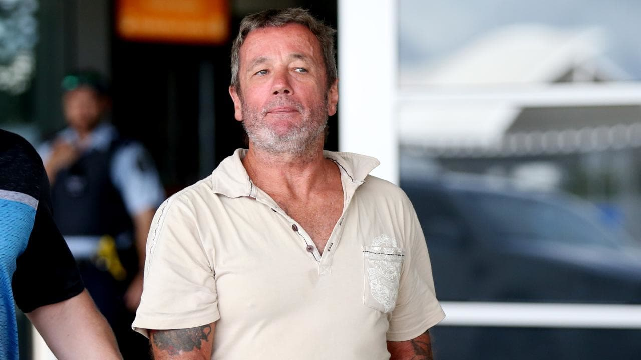 UK national David James Jackson, 57, in Cairns for an extradition hearing to WA on drug trafficking charges. Picture: Stewart McLean